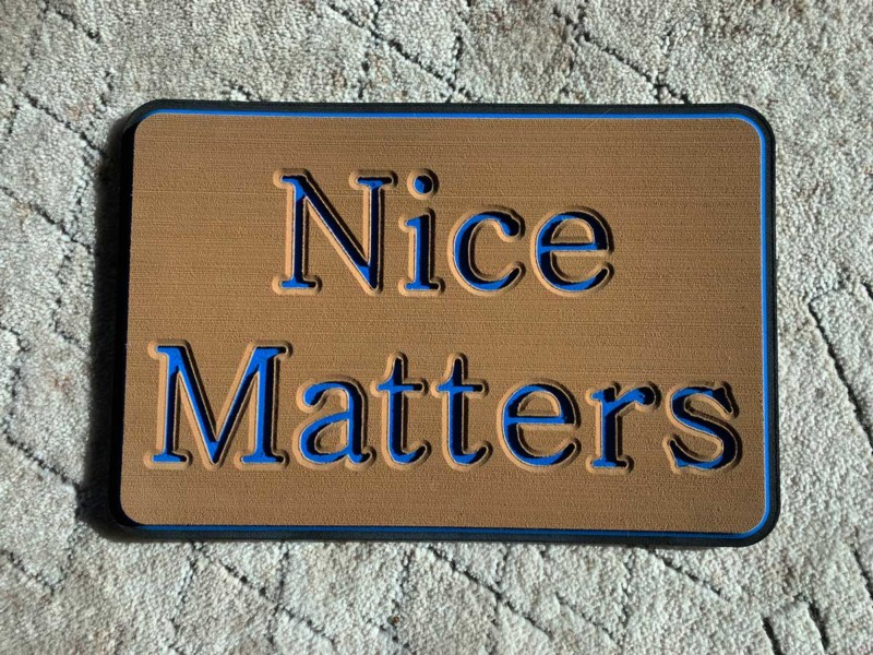 Nice Matters Custom Seadek pad